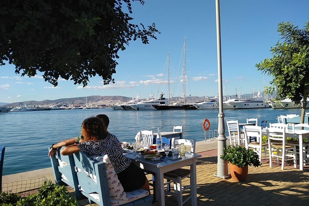 Athenian Riviera Flisvos Park and Marina