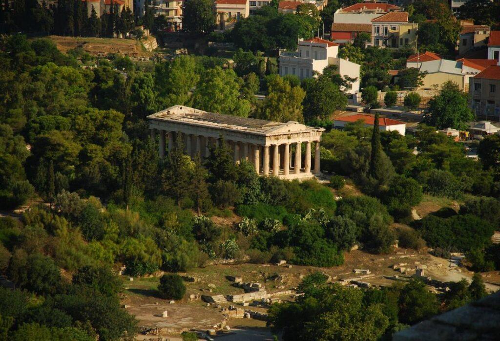 Ancient-Agora-Temple