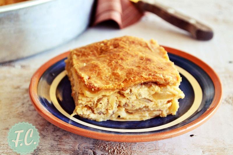 onion pie Folegandros island food
