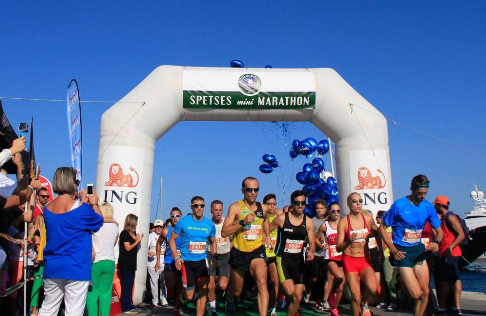 Spetses Island mini marathon
