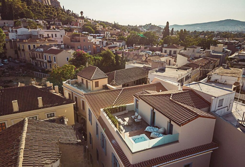 Andronis-2 hotel in plaka Athens
