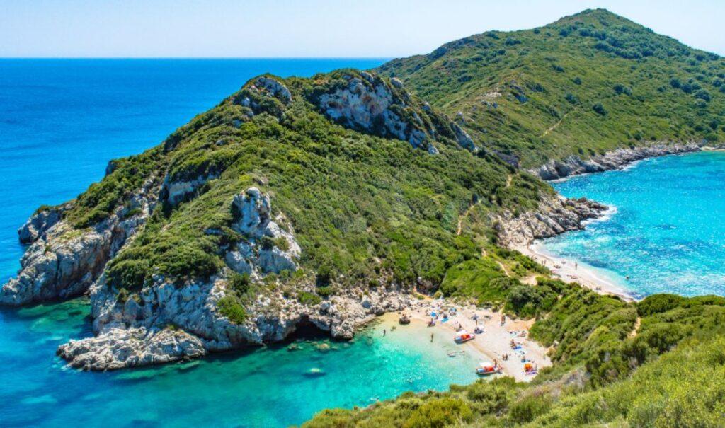 Seaside in Corfu