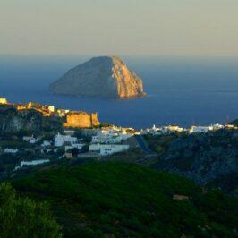 The Kastro in Kythera island