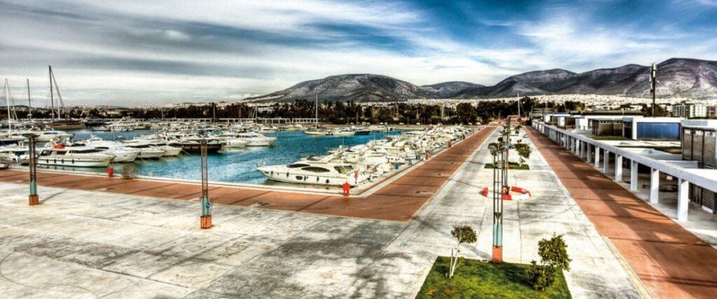 Agios Kosmas Marina in Athens Riviera